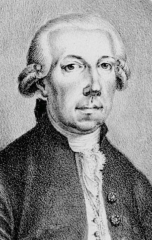 Friedrich Hartmann Graf vers 1780