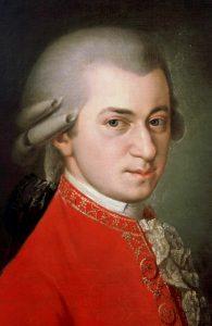 Wolfgang Amadeus Mozart vers 1780